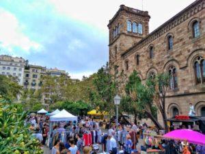 Mercadillos de Barcelona